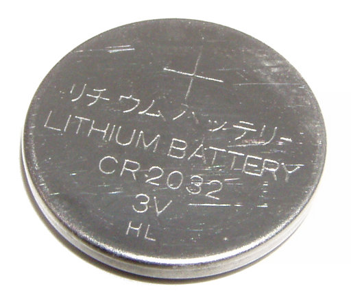 Battery lithium CR2032