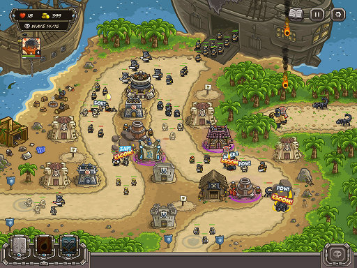 Screenshot z Kingdom Rush Frontiers