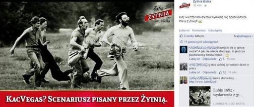 Wódka Żytnia reklama Facebook