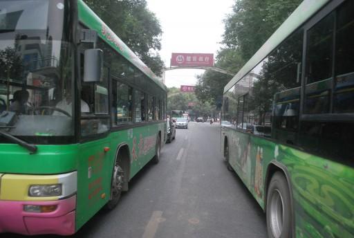Autobusy mijanie
