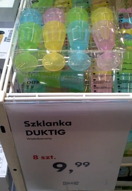 Kieliszki Ikea