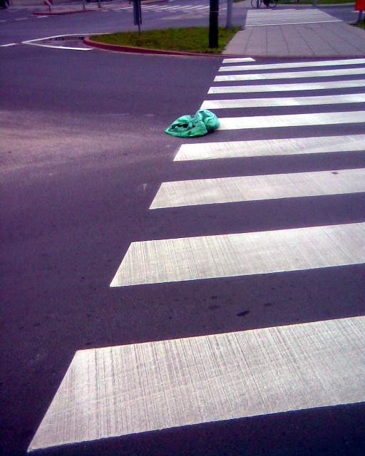 Lampion na ulicy.