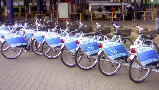Rowery miejskie Poznań