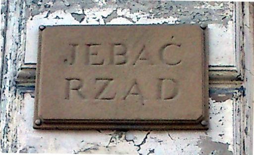 Tabliczka na kamienicy - Poznań