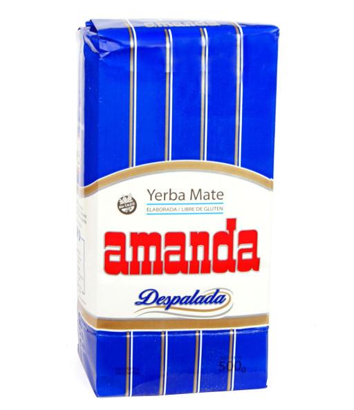 Yerba mate Amanda niebieska